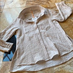 Orange Creek Supersoft texture crinkle/relaxed fit